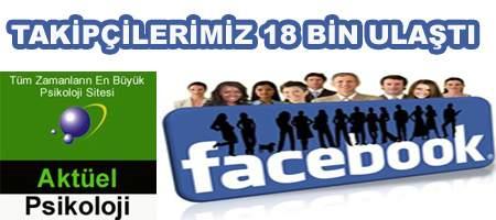 Facebook Takipçilerimiz 18 Bin Kişiyi Aştı