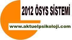 2012 Lisans Yerleştirme Sınavı Sonuçları