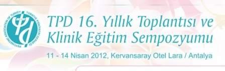 16. TPD Yıllık Toplantısı ve Klinik Eğitim Sempozyumu