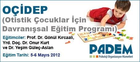 OÇİDEP (Otistik Çocuklar İçin Davranışsal Eğitim Programı)