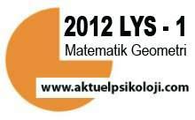 2012 LYS 1 Matematik Geometri Cevapları Haber Türk Canlı İzle