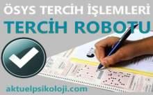 2012 LYS Tercih Robotu ve Tercih İşlemleri Sayfası