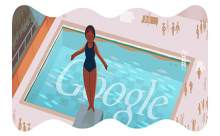 Googledan Londra 2012 atlama doodleı