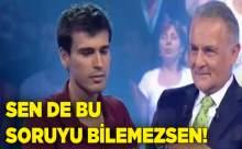 Türkiye 22ncisi İlk Soruda Elendi
