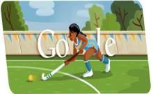 Londra 2012 İçin Googledan Hokey Doodle
