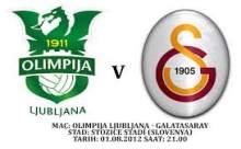Galatasaray - NK Olimpija Ljubljana maçı özeti