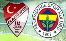 Elazığspor Fenerbahçe Maçı Saat Kaçta?