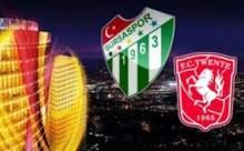 Bursaspor 3 - Twente 1 Maçın Golleri VİDEO