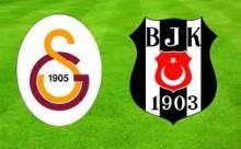 Beşiktaş-Galatasaray Maçının Sonucu 3-3