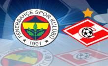Fenerbahçe-Spartak Moskova Rövanş Maçı Hangi Kanalda?