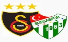Galatasaray-Bursaspor Maçı Ne Zaman?
