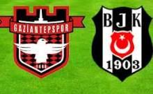 Gaziantep Beşiktaş Maçının Sonucu 3 - 2