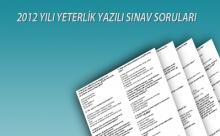 TPD Yeterlilik Sınavı Soru ve Cevapları