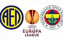 Fenerbahçeyi AEL Limassol Maç Sonucu Canlı Anlatım