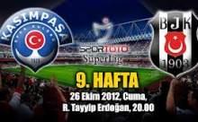 Kasımpaşa Beşiktaş Maçı Sonucu Canlı Anlatım