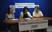 TODAP Ölüm Oruçları İçin Basın Açıklaması Yaptı