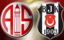 Beşiktaş Medicalpark Antalyaspor Maçı Sonucu Canlı Anlatımı