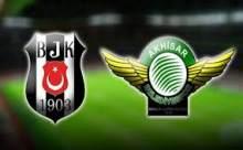 Beşiktaş Akhisar Belediyespor Maçı Sonucu Canlı Anlatım
