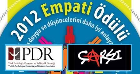 """Türk PDR-DER """"2012 Yılı Empati Ödülü"""" Çarşıya"""