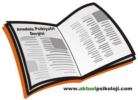 Anadolu Psikiyatri Dergisi 13. Cilt 4. Sayı İçeriği