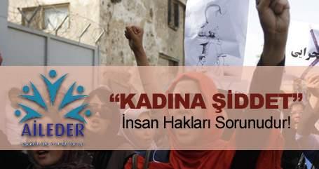 Aileder 8 Mart Dünya Kadınlar Günü Basın Bildirisi