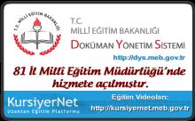 Doküman Yönetim Sistemi Dersleri - Video
