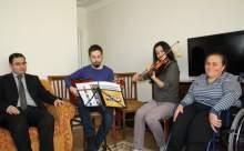 Yatağa Bağlı Hastalara Evde Müzik Terapisi