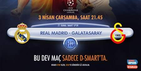 Real Madrid - Galatasaray Maçı Saat Kaçta?
