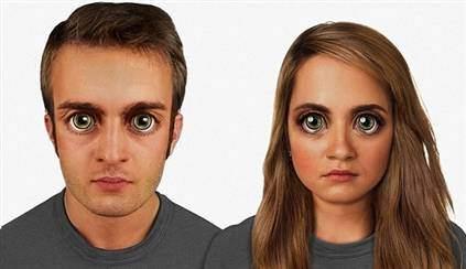 100 Bin Yıl Sonraki İnsan Yüzü