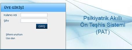 Psikiyatrik Akıllı Ön Teşhis Sistemi (PAT) Geliştirildi