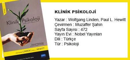 Klinik Psikoloji Kitabı Nobel Yayıncılıktan Çıktı