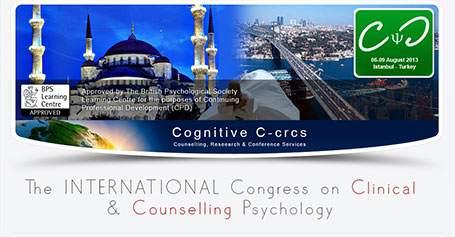 2013 Uluslararası Klinik Psikoloji Kongresi