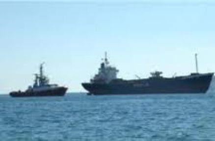 Marmara Denizinde İki Gemi Çarpıştı!