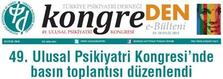 49. Ulusal Psikiyatri Kongresi Kongre Bülteni