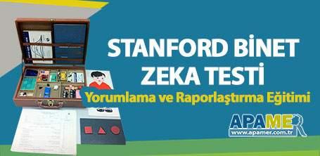 Stanford Binet Yorumlama ve Raporlama Eğitimi