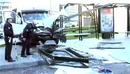 Minibüs Durağa Daldı: 8 Yaralı