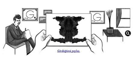 Bugün Hermann Rorschachın Doğum Günü