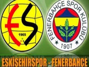 Eskişehir Fenerbahçe Maçının Sonucu 2-1