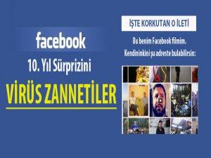 Facebook'un Sürpriz Videosunu Virüs Zannettiler!