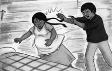 Ev Hanımları Sıddet Kurbanı