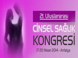 21. Uluslararası Cinsel Sağlık Kongresi