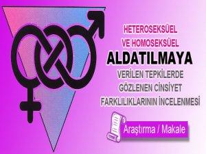 Eşcinsel Aldatmalarda ki Cinsiyet Farklılıklarının İncelenmesi
