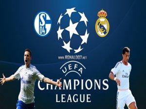 Real Madrid Shalke Maçının Golleri 6-1