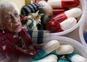 Eşini kaybeden yaşlılar fazla ilaç kullanıyor
