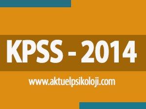 2014 KPSS Lisans Başvuru Kılavuzu