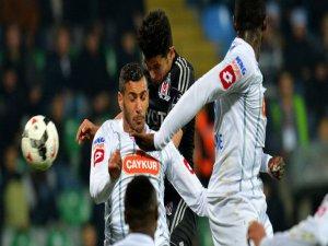 Beşiktaş Çaykur Rizespor Maçının Sonucu: 2-2