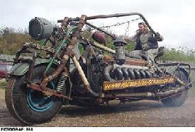 Dünyanın en ağır motosikleti, tam 4.5 ton
