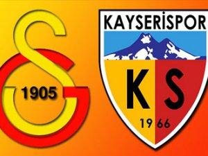 Galatasaray-Kayserispor Maçı Hangi Kanalda