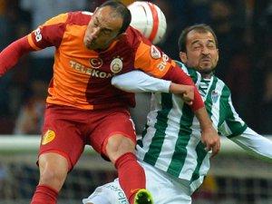 Galatasaray Bursaspor Maçının Sonucu: 2-2