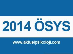 2014 ÖSYM LYS Sınav Giriş Belgeleri